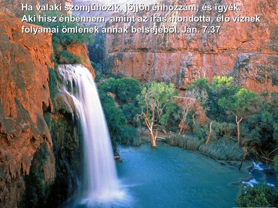 Felelt Jézus: Bizony, bizony mondom néked: Ha valaki nem születik víztől és Lélektől, nem mehet be az Isten országába. Ján. 3.5