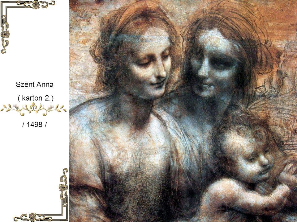 Szent Anna ( karton 1. ) / 1498 /