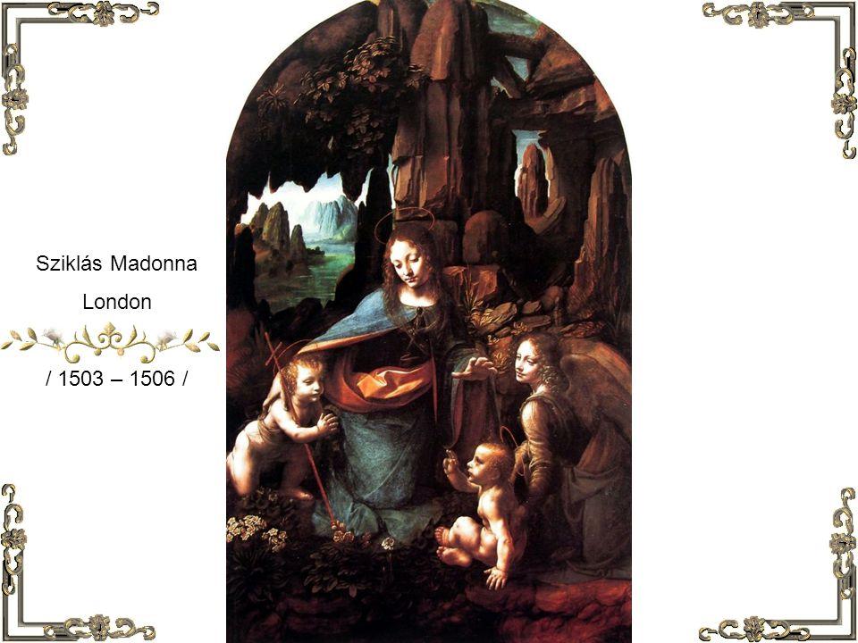 Mona Lisa / 1503 – 1505 /
