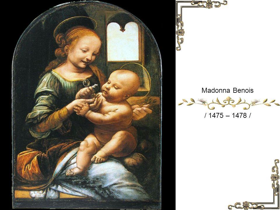 Ginerva de Benci / 1474 – 1476 /