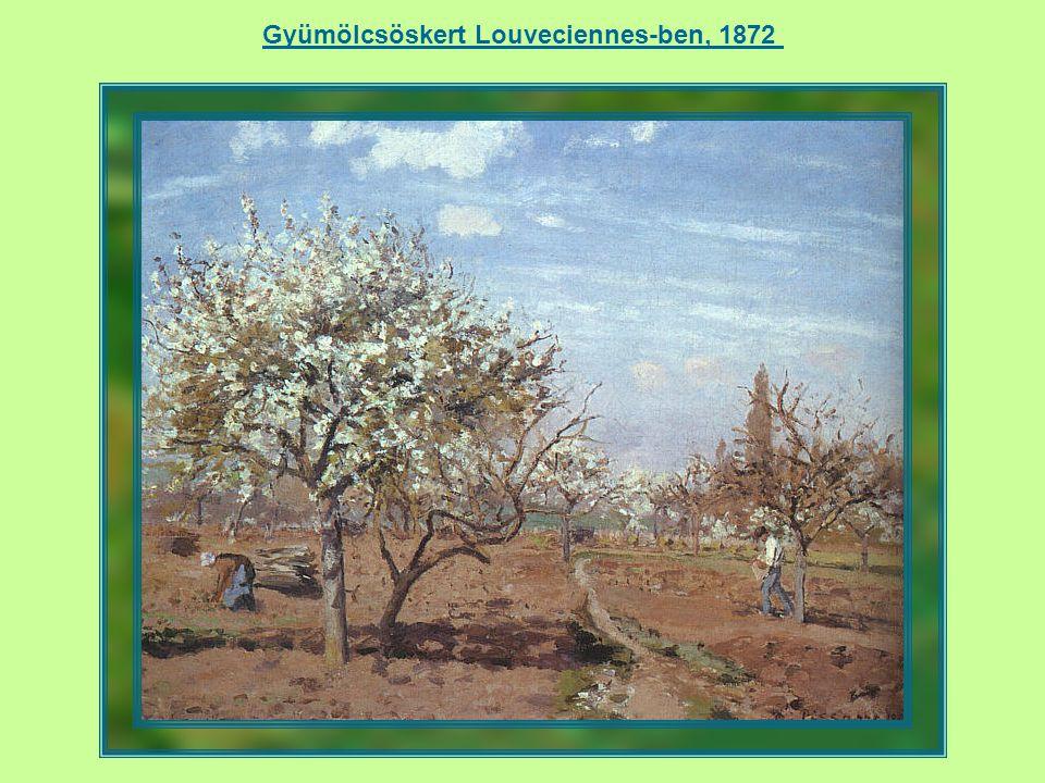 Louveciennes – A versailles-i út, 1870