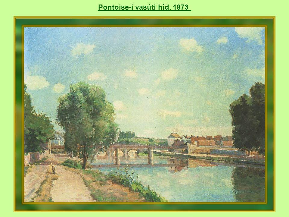 Gyümölcsöskert Louveciennes-ben, 1872