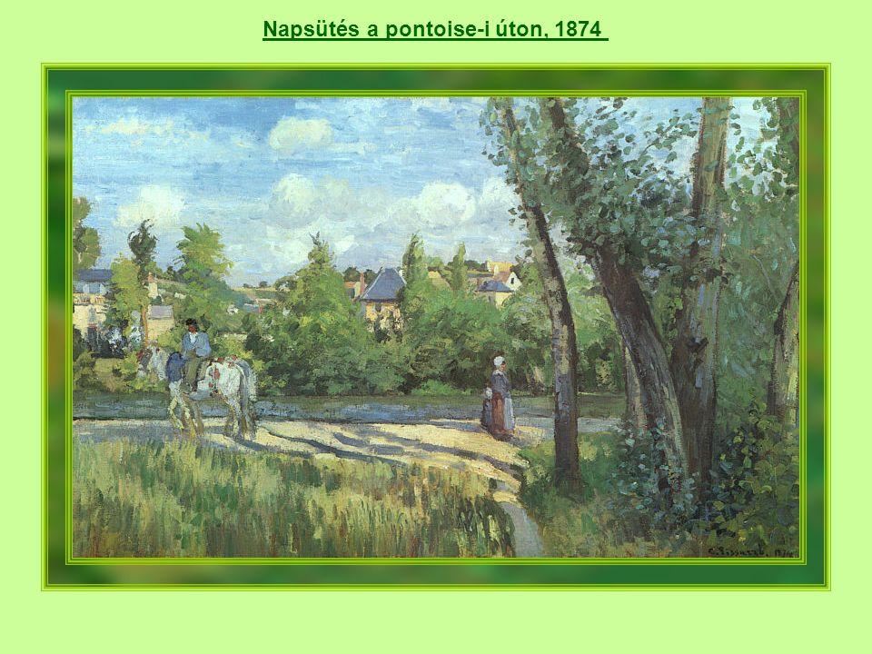 Reggeli napsütés Eragny-Sur-Epte-ben, 1895