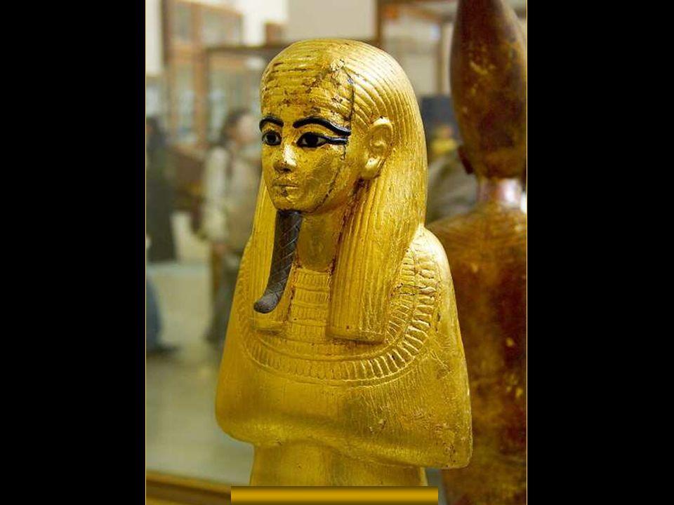 Horus aranyszobra