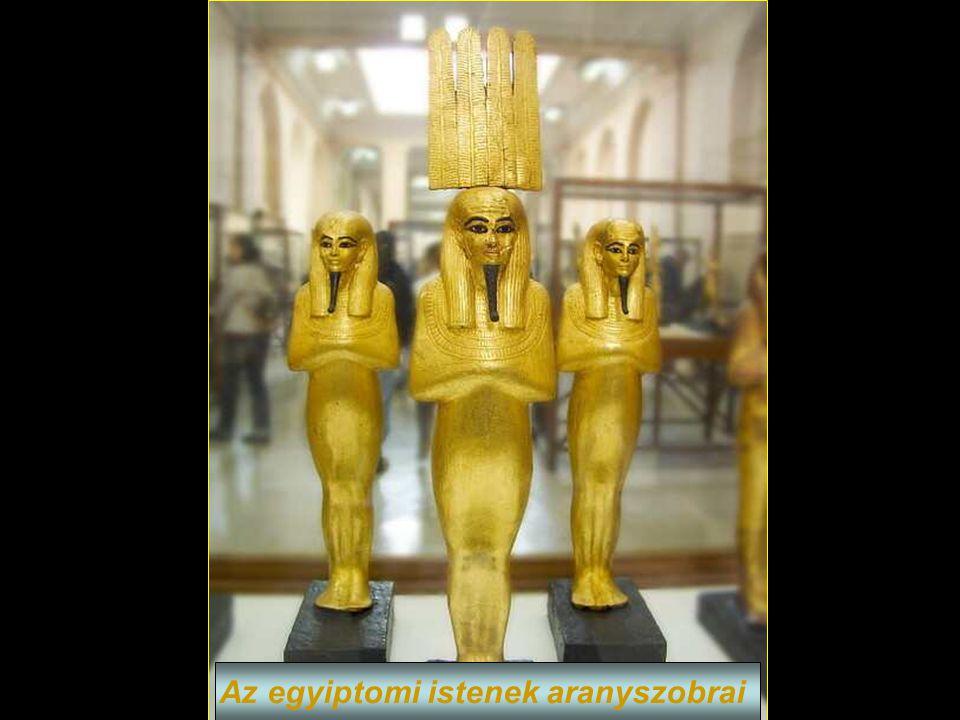 Anubis isten aranyszobra