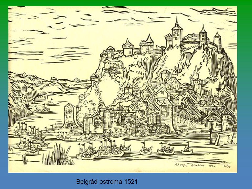 Galambóc, amelyet még 1427-ben megszereztek az Oszmánok