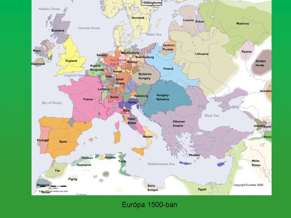 Európa 1500-ban