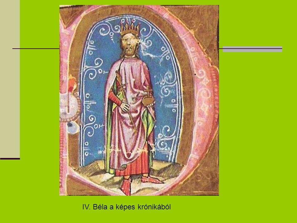IV. Béla a képes krónikából