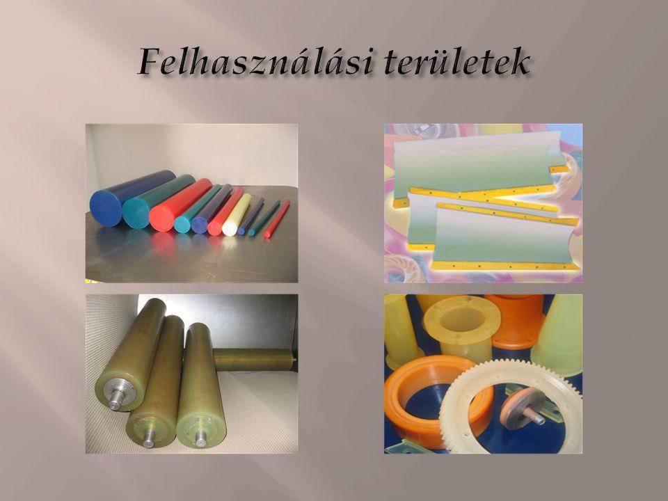 A poliuretánokat széleskörűen alkalmazzák számos különböző kereskedelmi termékben, például bevonatok, habok, ragasztók, tömítők, műbőrök, membránok, elasztomerek alapanyagaként, de készítenek belőlük élettanilag semleges protéziseket is.