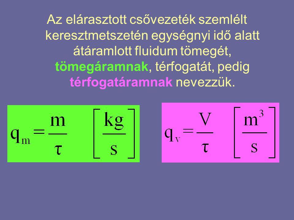  A két áram közötti összefüggés, a következő:
