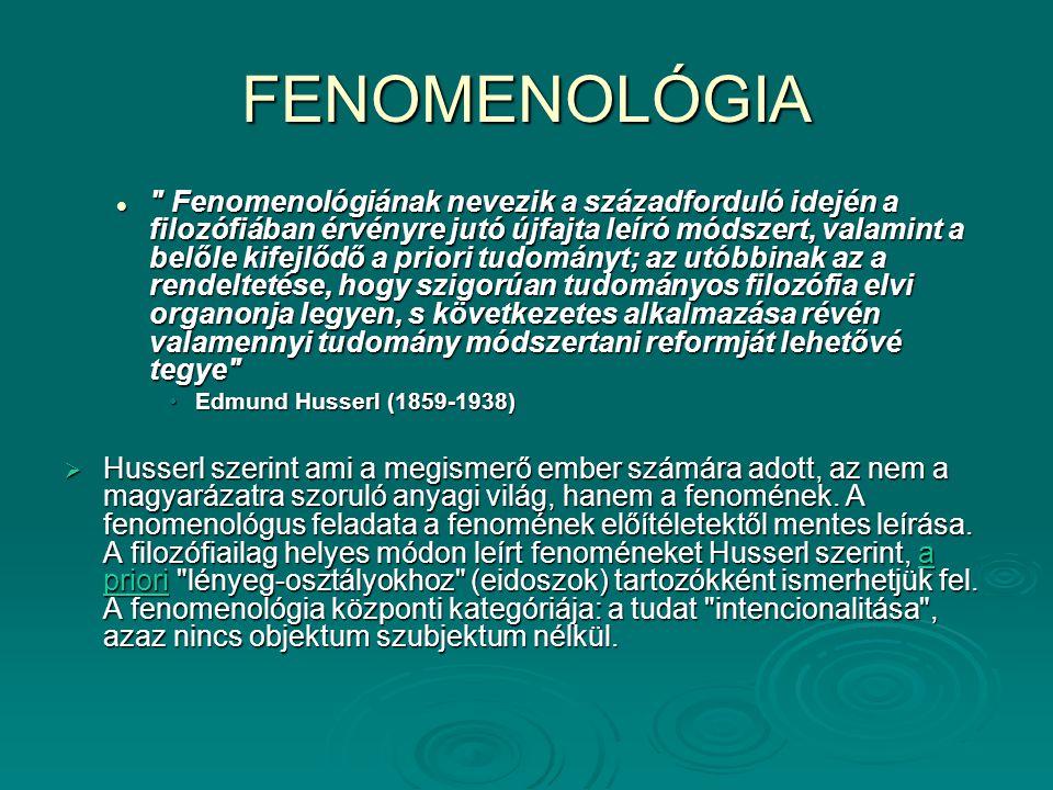FENOMENOLÓGIA
