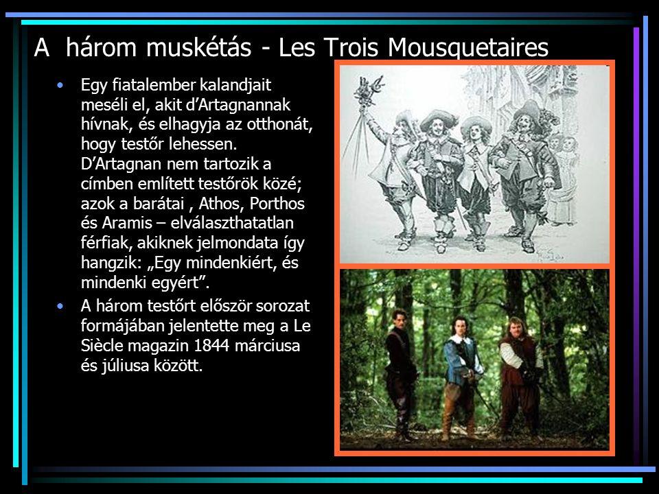 A három muskétás - Les Trois Mousquetaires Egy fiatalember kalandjait meséli el, akit d'Artagnannak hívnak, és elhagyja az otthonát, hogy testőr lehessen.