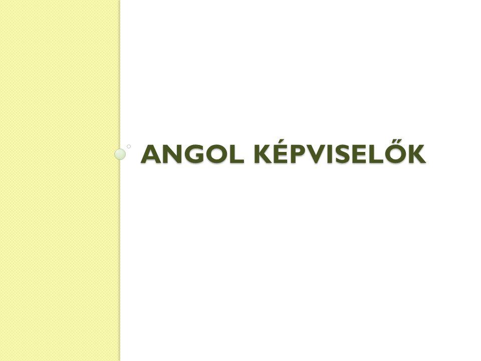 ANGOL KÉPVISELŐK