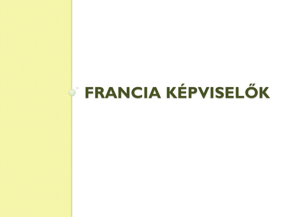 FRANCIA KÉPVISELŐK