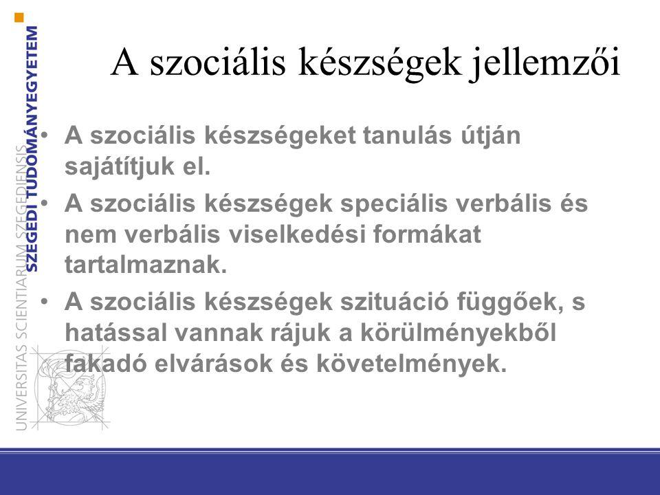 Hazai kutatási eredmények óvodások: megküzdési stratégiák, minták (agresszivitás, proszocialitás), szociális készségek (Zsolnai, 2007; Zsolnai, Lesznyák és Kasik, 2011), kisiskolások: szociális készségek (Zsolnai és Józsa, 2002; Zsolnai és Kasik, 2010; 2011; Kasik, 2010), serdülők: szociális készségek és képességek, személyiségvonások (Zsolnai, 1999; Kasik, 2007), a vizsgálatok alapján alig van, illetve nincs spontán fejlődés → tudatos fejlesztés szükségessége