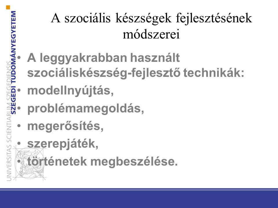 Óvodai és iskolai fejlesztő- programok Magyarországon Csendes Éva (1997): Életvezetési ismeretek és készségek fejlesztése: óvodai és I-IV.