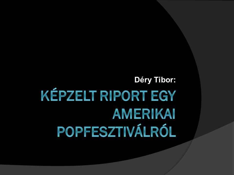 Déry Tibor: