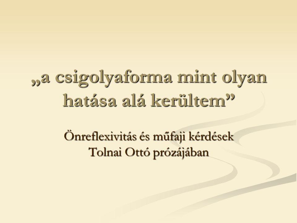 Eligazítás és félrevezetés Eligazítás és félrevezetés Grenadírmars - egy kis ízelt opus - (2008) Rövid, tömör darabok – Kafka-miniatűrök, beckett-i textes pour rien szövegmodellje, minimalizmus, conte froid Grenadírmars - egy kis ízelt opus - (2008) Rövid, tömör darabok – Kafka-miniatűrök, beckett-i textes pour rien szövegmodellje, minimalizmus, conte froid