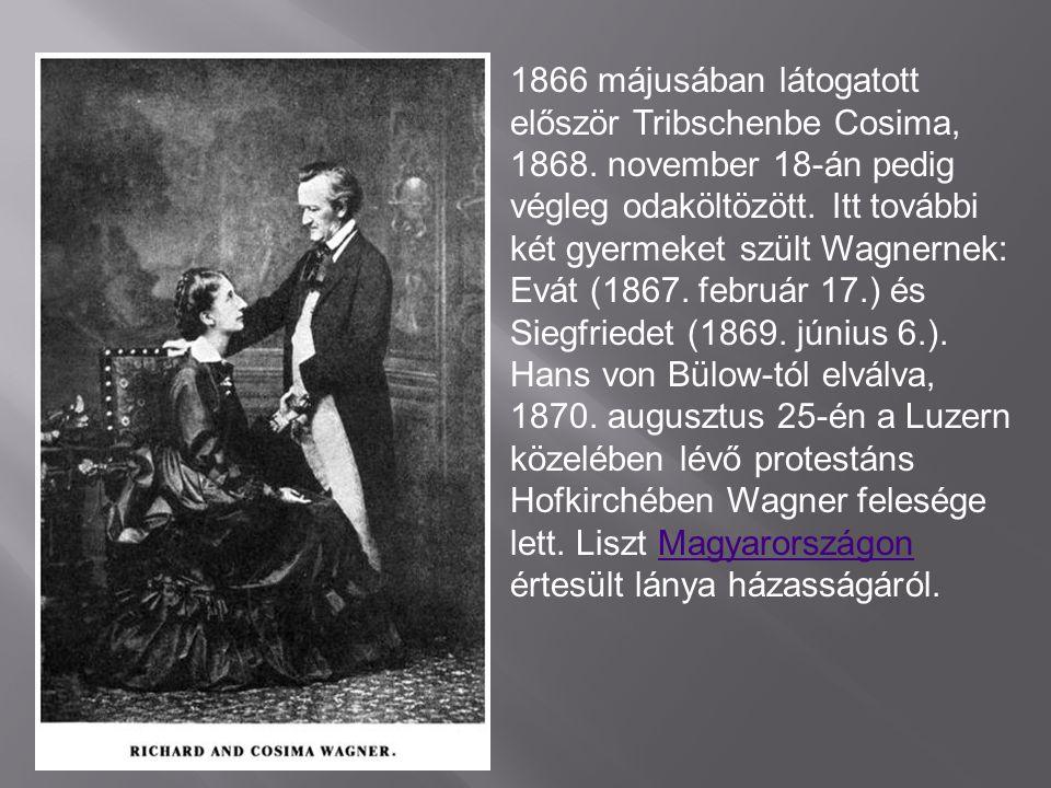  Romantikus operai: -1833- Tündérek -1836-A szerelmi tilalom -1837-Rienzi,az utolsó tribunus -1843-A bolygó hollandi -1854-Tannhauser -1850-Lohengrin