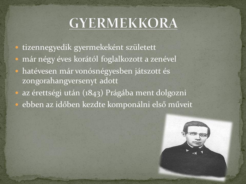 1848-ban megalapítja saját zeneiskoláját,ahol feleségül veszi Kateřina Kolářovát 1856 –1861 között a svédországi Göteborgi filharmónia élén állt.