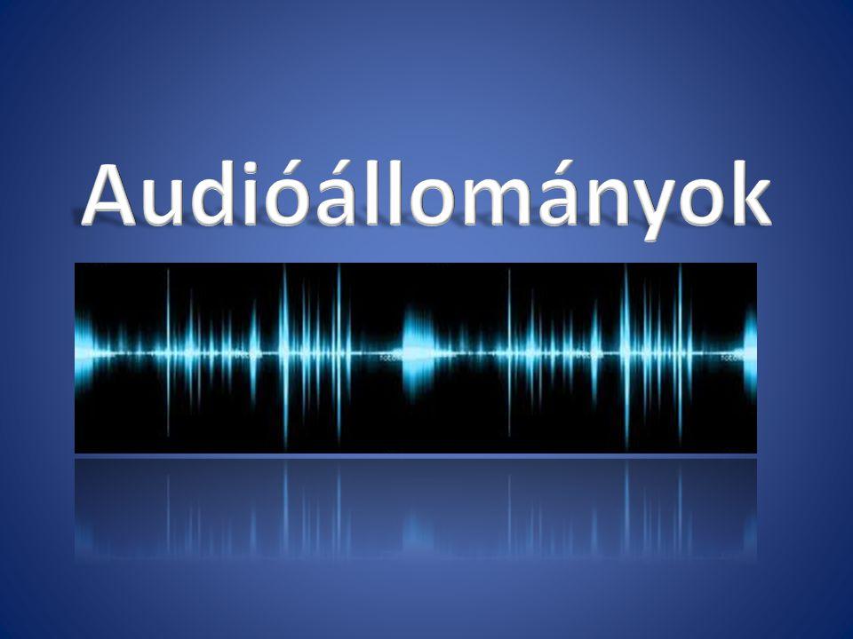 A hang digitalizálása Ahhoz, hogy a hangot bevigyük a számítógépbe (vételezzük) át kell alakítani analóg jelből digitális jelbe.