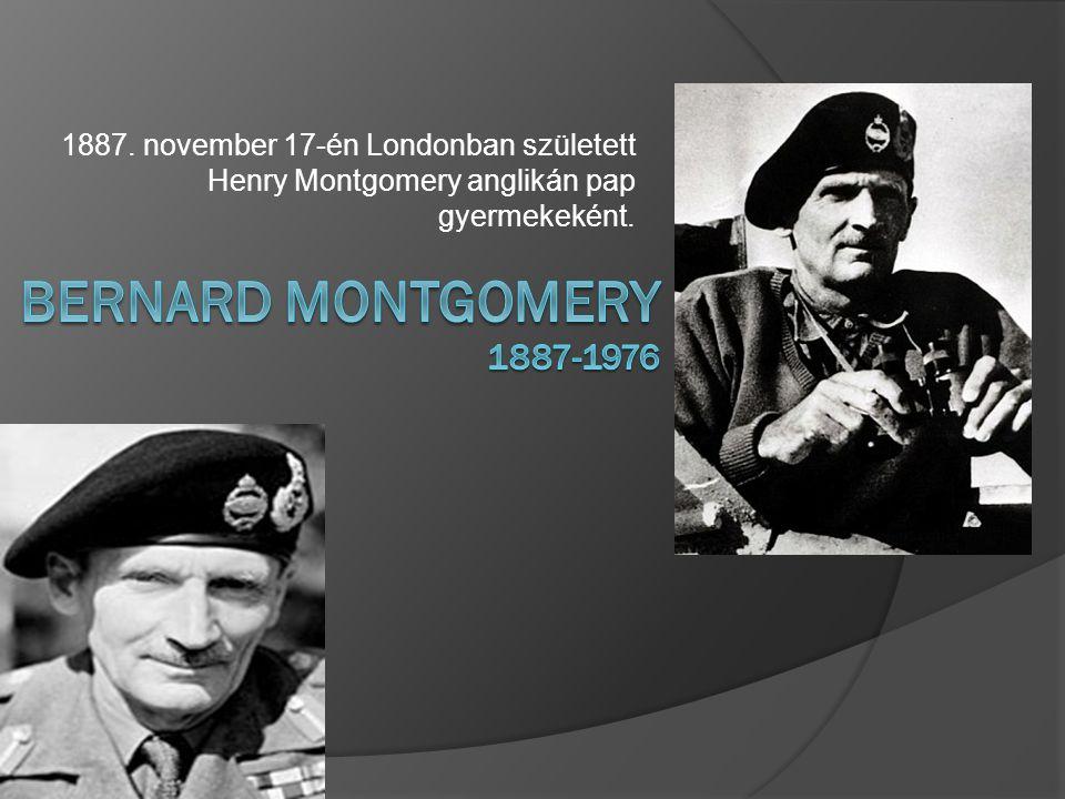 1887. november 17-én Londonban született Henry Montgomery anglikán pap gyermekeként.