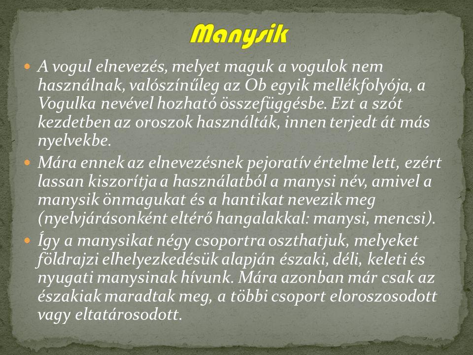 A hanti nyelv (vagy az oroszoktól kapott néven osztják nyelv) az uráli nyelvcsalád tagja, legközelebbi rokona a manysi (vogul) valamint a magyar.