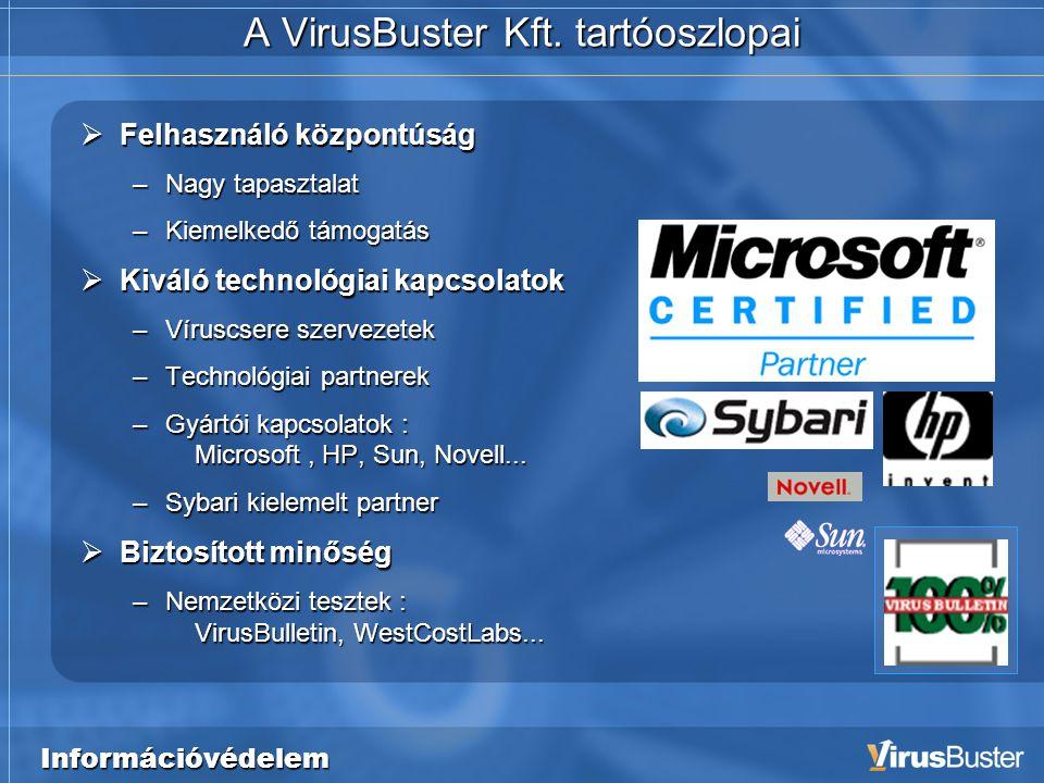 Információvédelem A VirusBuster Kft.