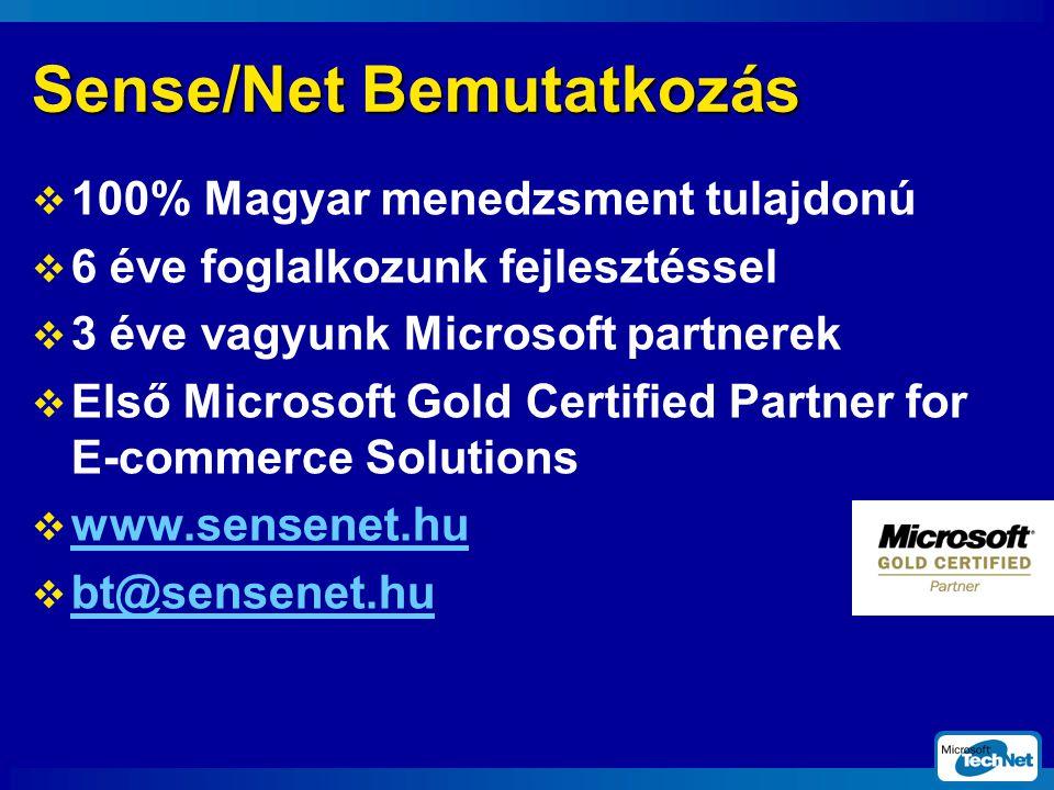 A MonLine felhasználási területe  Speciális sajtó rendszerű publikus hírportál  Önálló hírportál nagyvállalatok belső marketingjéhez  Kiegészítő tartalomszolgáltató funkció nagyvállalatok MS alapú portál rendszereiben