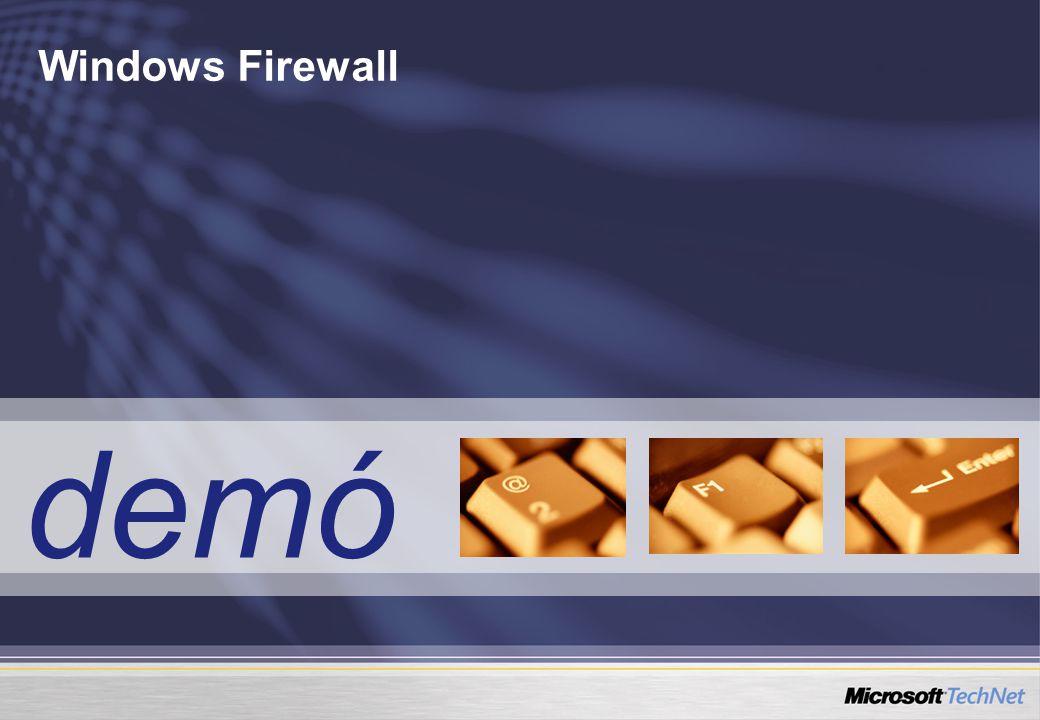 demó Windows Firewall
