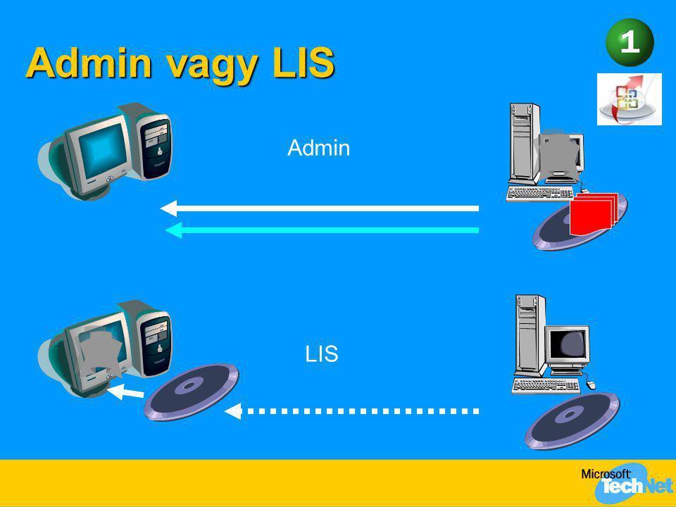 Admin vagy LIS Admin LIS