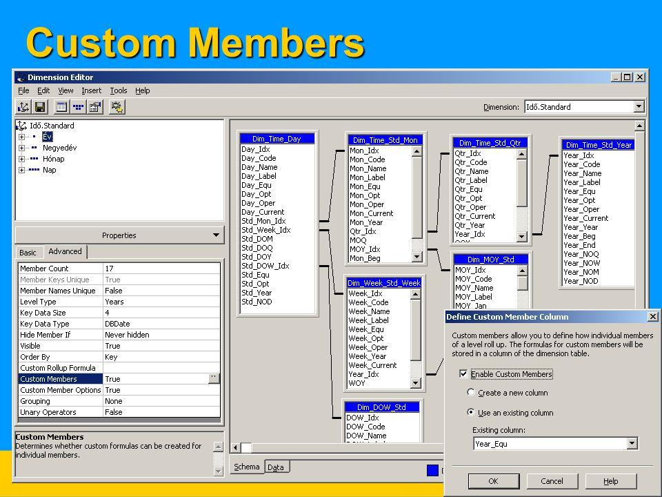 Custom Members