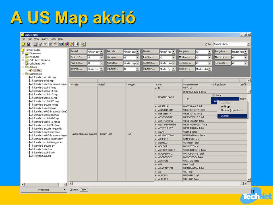 A US Map akció