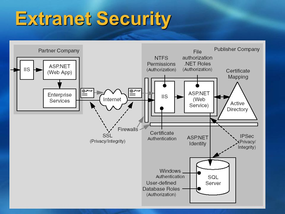 Extranet Security