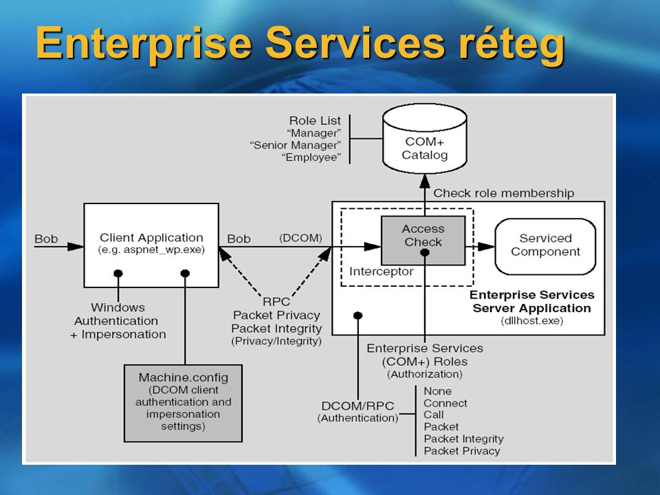 Enterprise Services réteg