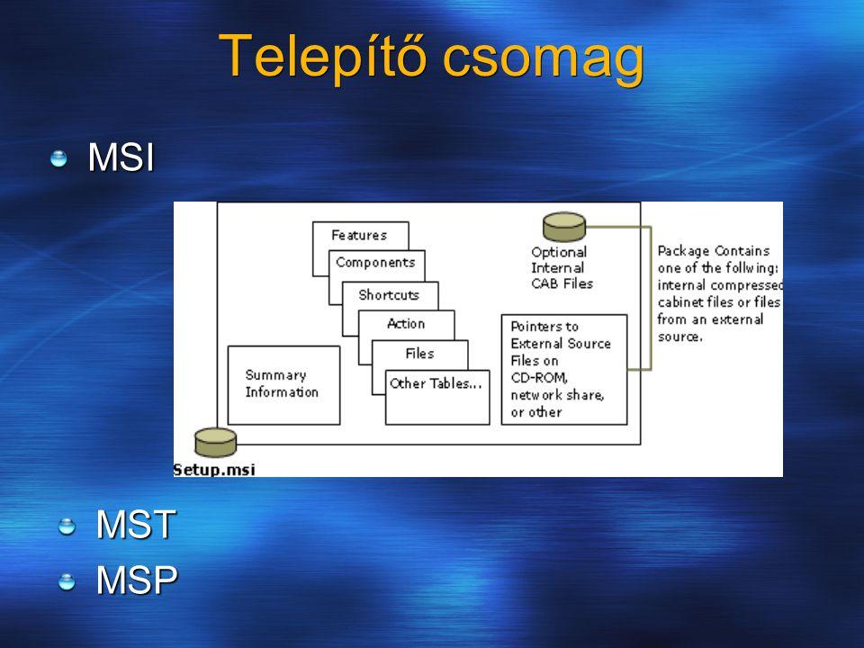 Telepítő csomag MSI MSTMSP