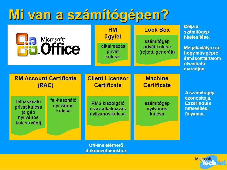 Egy munkaállomás aktiválása  Lockbox  %systemroot%\system32\secrep.dll aktivációs proxy (RMS) munkaállomás tűzfalMicrosoft aktivációs szolgáltatás Lockbox RM machine cert