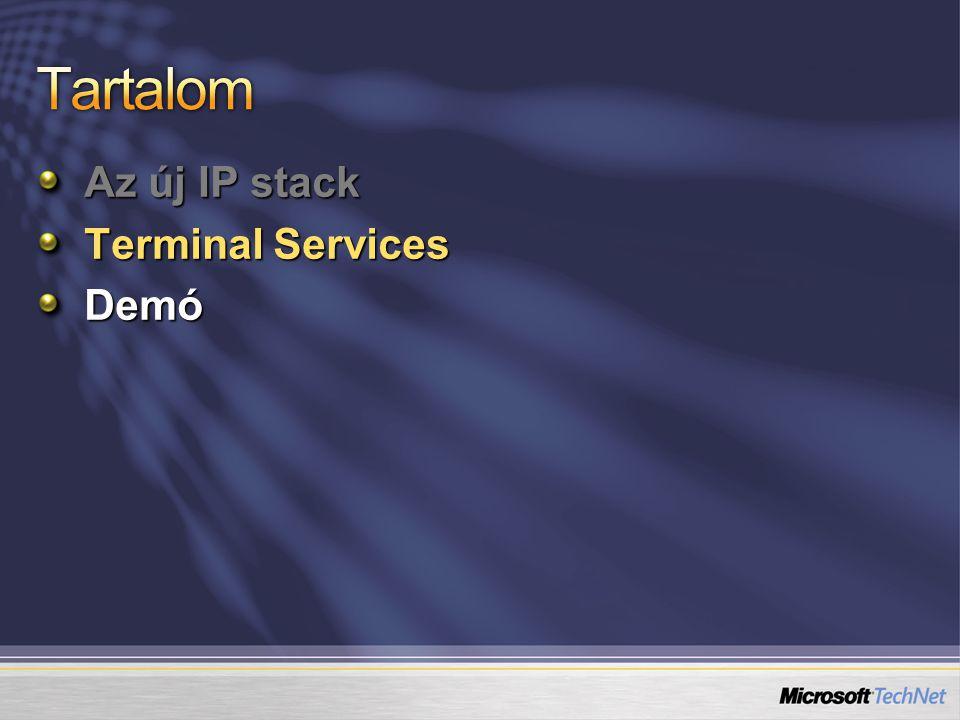 RemoteApp elérhető: Terített.rdp file-ra kattintva Kiajánlott.msi csomag ikonján keresztül Házirendben asszociált kiterjesztésű file-ra kattintva TS Web Access felületén publikált link segítségével
