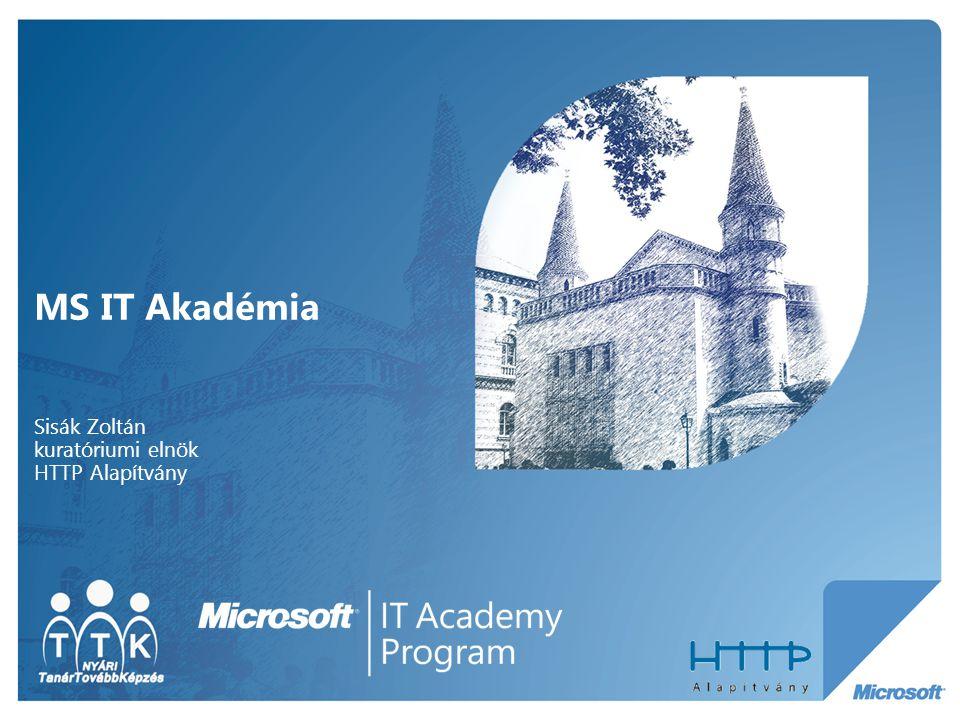 MS IT Akadémia Sisák Zoltán kuratóriumi elnök HTTP Alapítvány