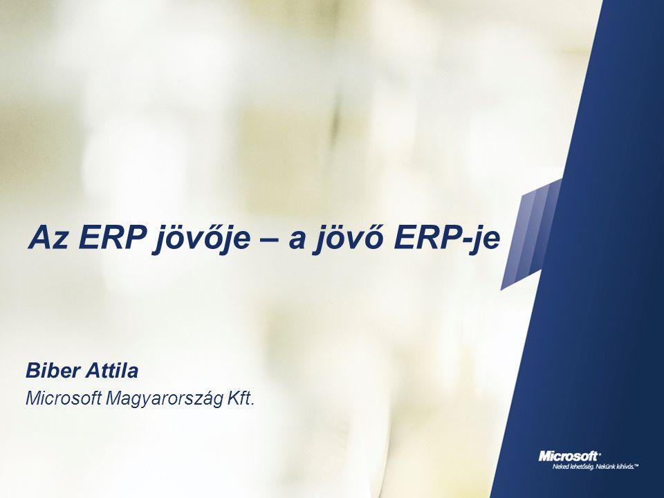  Üzleti intelligencia  Alkalmazás integráció  Üzleti alkalmazások  Csoportmunka  Egyéni teljesítmény Egységes információ kezelés XML Vállalati rendszerek Egyéni hatékonyság Csoportmunka XML 3 rd -Party Apps Külső alkalmazások Application Connectors ERP