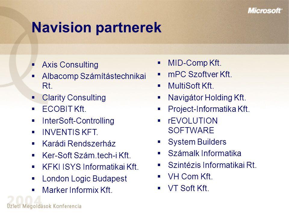Navision partnerek  MID-Comp Kft.  mPC Szoftver Kft.