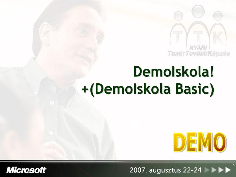 5 DemoIskola! +(DemoIskola Basic)