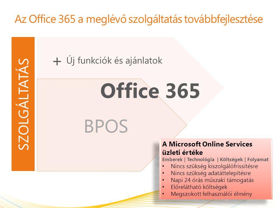 Szerepkörök és felelősségek az áttérés során Microsoft Ügyfelek figyelmének felhívása Ütemezés ajánlása Információk és útmutatás A Microsoft adatközpontjaiban végzett módosítások Zavartalan e-mail forgalom Az összes adat áttelepítése Ügyfél Válaszadás az ajánlott ütemezésre Végfelhasználók képzése és kommunikáció Az eszközök és a végfelhasználók számítógépére telepített szoftverek frissítése, amennyiben szükséges Választható: ADFS-szerepkör, Exchange Server 2010 CAS-szerepkör bevezetése 3