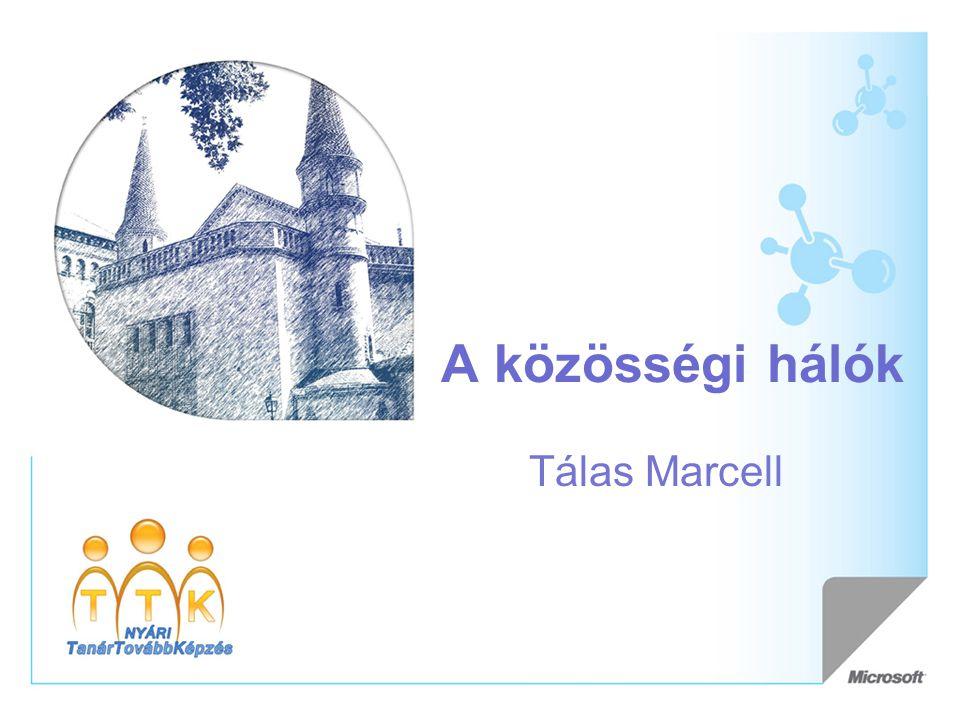 A közösségi hálók Tálas Marcell