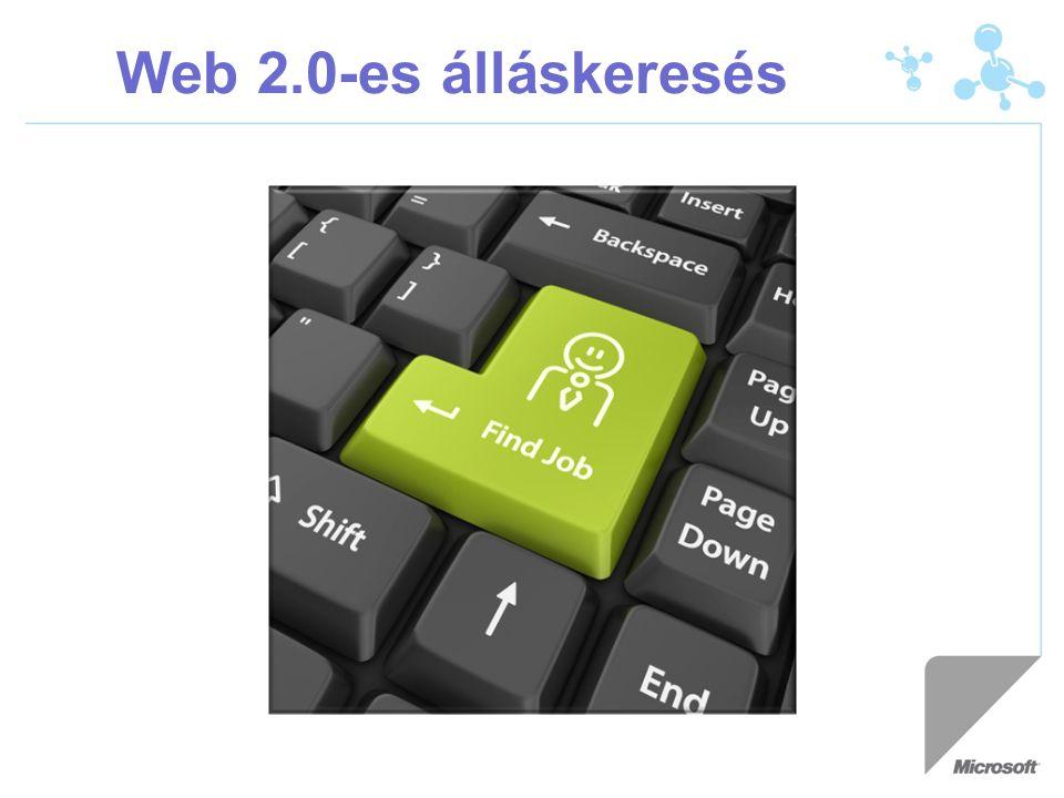 Web 2.0-es álláskeresés