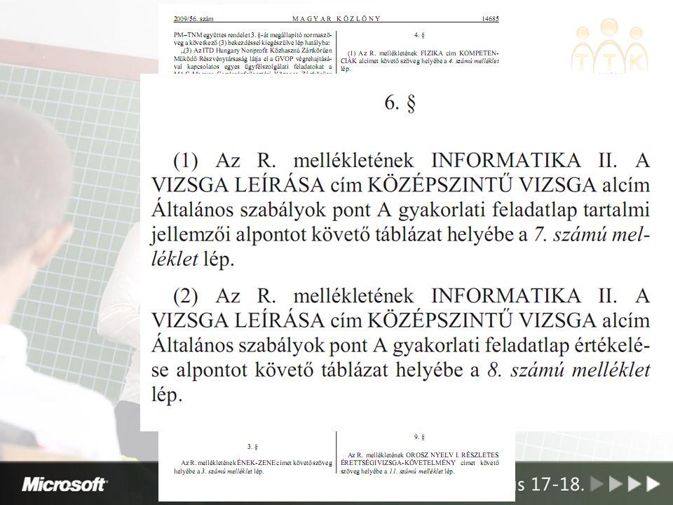 22/2009. (IV. 22.) OKM rendelet
