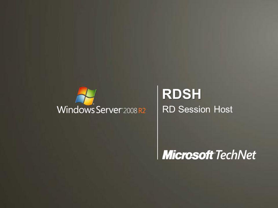 """ Gyakorlatilag ez a klasszikus TS szerver –Szimpla RDP kliensek """"befogadója –Remote Desktop és RemoteApp –Fair Share CPU időzítés –IP virtualizáció –Licenszelés Session Memory Space 1 Win32k Graphical Subsystem (NTUSER & GDI) Win32k Graphical Subsystem (NTUSER & GDI) Session Manager Connection Manager RDS APIs Admin Tools RDP RDPn CSRSSCSRSSWinlogonWinlogon IP Virt DevicesDevices User Apps Session Memory Space N Win32k Graphical Subsystem (CSRSS & WinLogon) Win32k Graphical Subsystem (CSRSS & WinLogon) IP Virt DevicesDevices User Apps CSRSSCSRSSWinlogonWinlogon"""