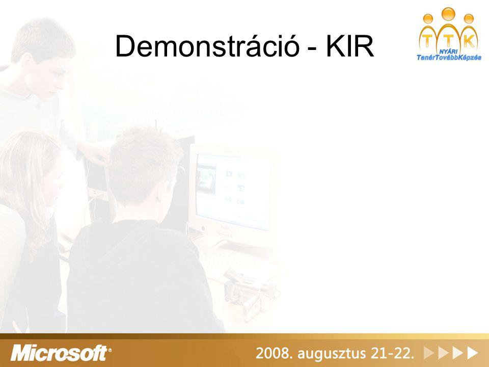 Demonstráció - KIR