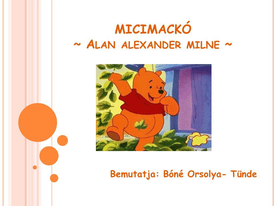 Milne kezdetben humoros esszéket, színdarabokat és regényeket írt, ám igazán ismertté gyermekkönyvei tették.