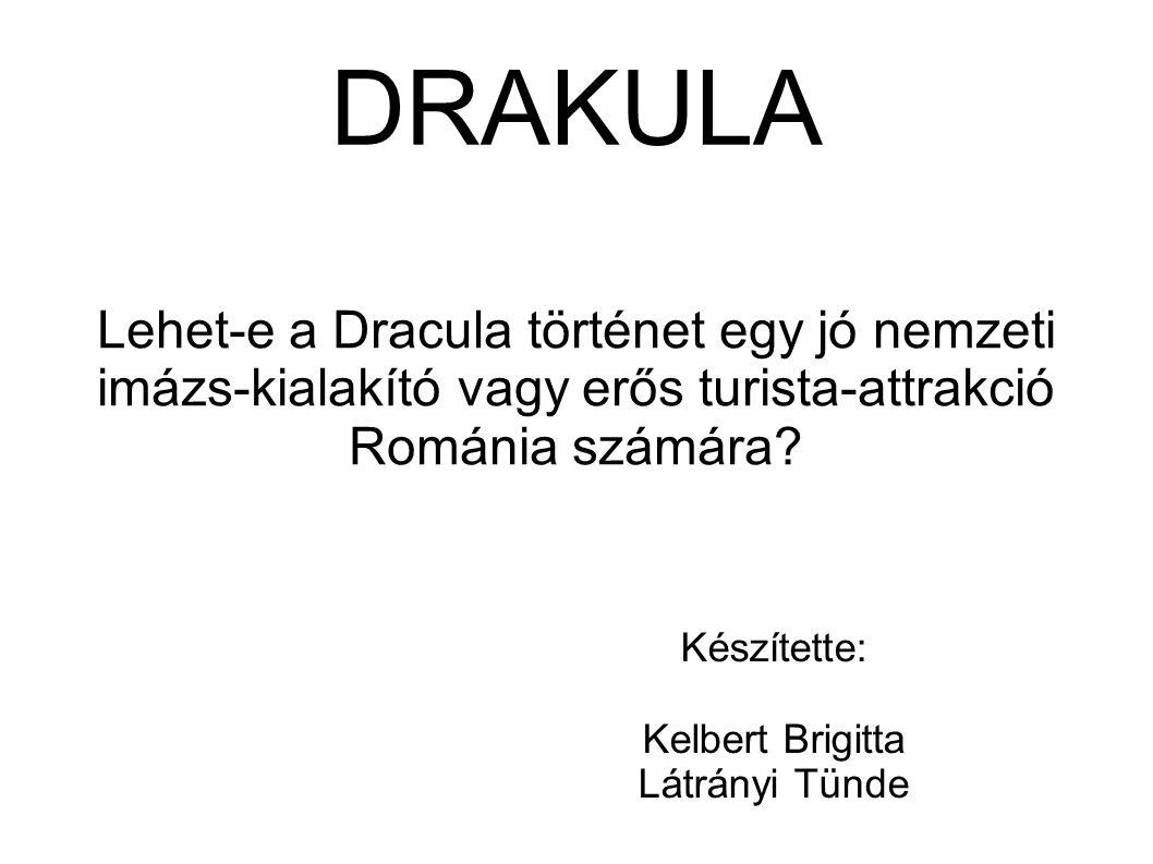 Lehet-e Drakula jó imázs-alakító vagy turista-attrakció.